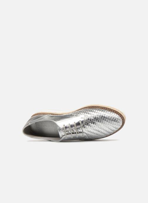 Chaussures à lacets Tamaris Ceres Argent vue gauche