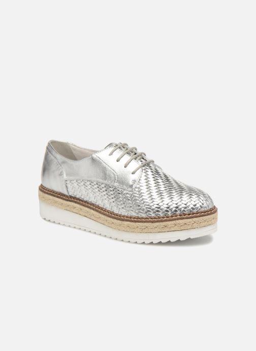 Chaussures à lacets Tamaris Ceres Argent vue détail/paire