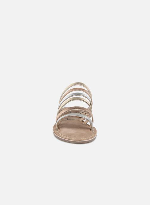 Sandales et nu-pieds Tamaris Juno Argent vue portées chaussures