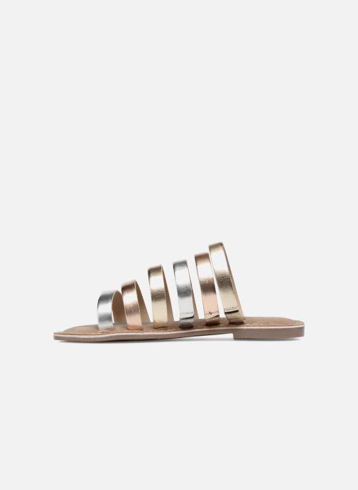 Sandales et nu-pieds Tamaris Juno Argent vue face