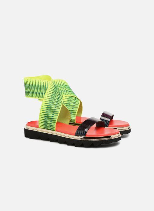 Sandales et nu-pieds United Nude X Sandal Noir vue 3/4