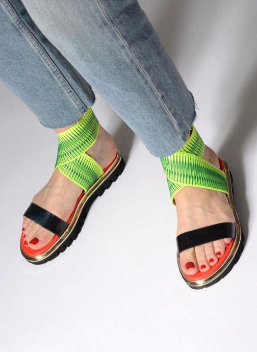 Sandales et nu-pieds United Nude X Sandal Noir vue bas / vue portée sac