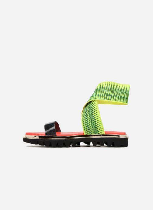 Sandales et nu-pieds United Nude X Sandal Noir vue face