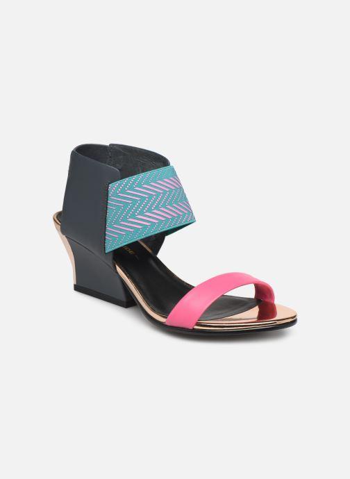 Sandales et nu-pieds United Nude Raiko Multicolore vue détail/paire