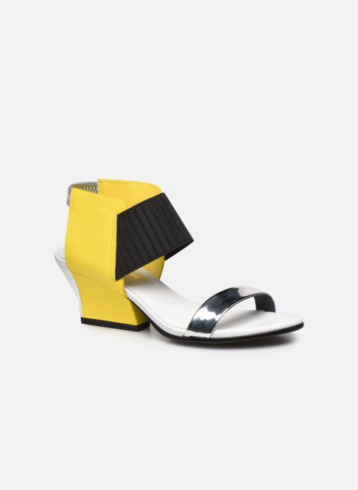 Sandales et nu-pieds United Nude Raiko Jaune vue détail/paire