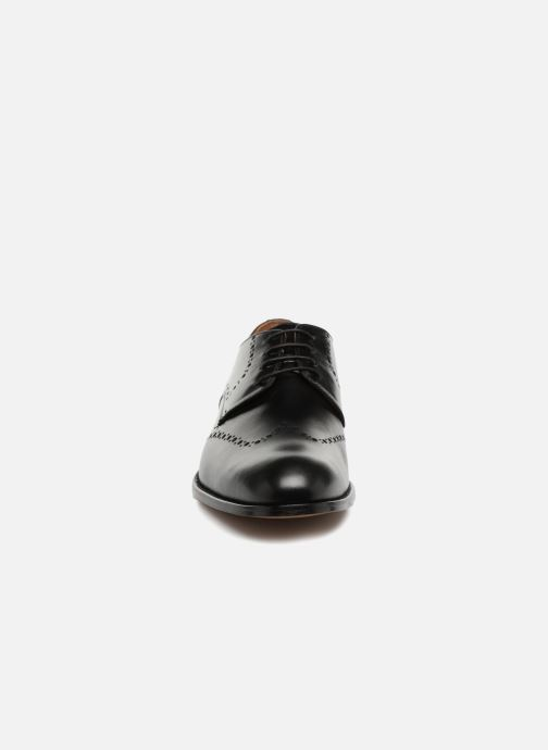 Schnürschuhe Marvin&Co Newnaust schwarz schuhe getragen