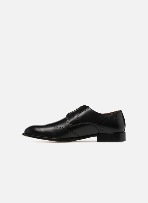 Lace-up shoes Marvin&co Newnaust Black front view
