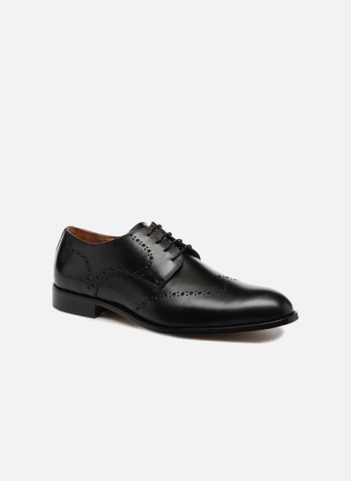 Lace-up shoes Marvin&co Newnaust Black detailed view/ Pair view