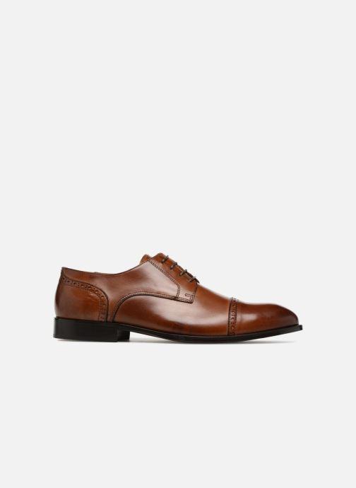 Zapatos con cordones Marvin&Co Nudge Marrón vistra trasera