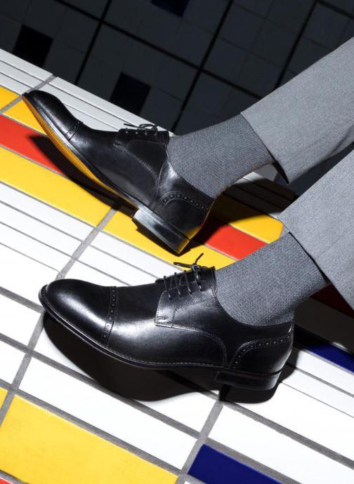 Scarpe con lacci Marvin&Co Nudge Nero immagine dal basso