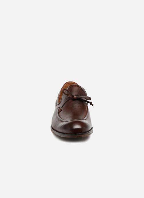 Mocassins Marvin&Co Newlace Marron vue portées chaussures