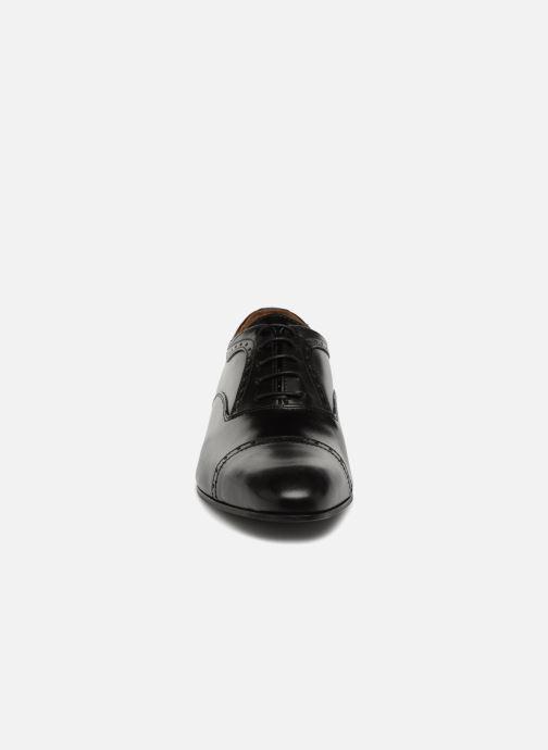 Schnürschuhe Marvin&Co Narlow schwarz schuhe getragen