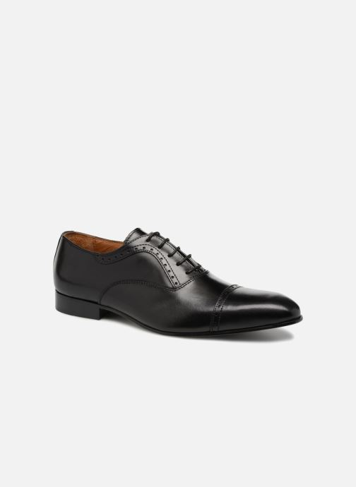 Lace-up shoes Marvin&co Narlow Black detailed view/ Pair view