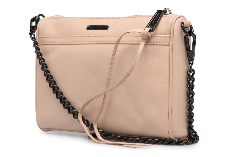 Handtaschen Rebecca Minkoff LEATHER HANDBAG HF24MFCX01 MINI MAC rosa ansicht von rechts