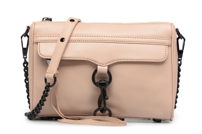 Handtaschen Rebecca Minkoff LEATHER HANDBAG HF24MFCX01 MINI MAC rosa detaillierte ansicht/modell
