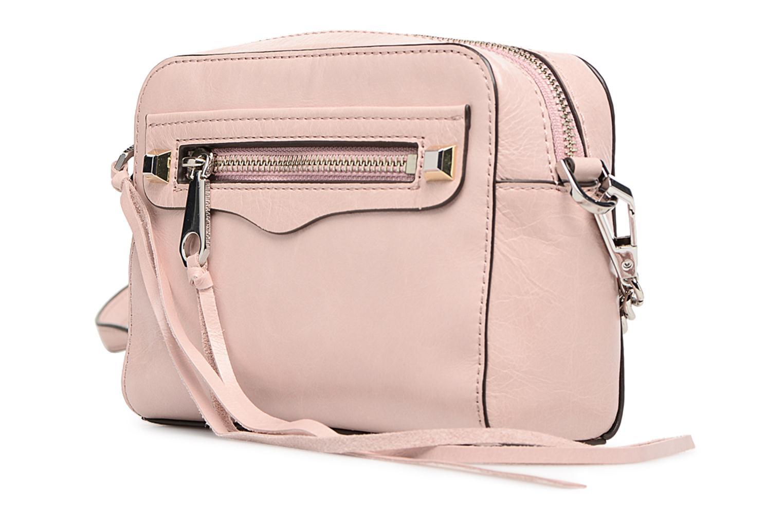 Handtaschen Rebecca Minkoff REGAN CAMERA BAG rosa schuhe getragen