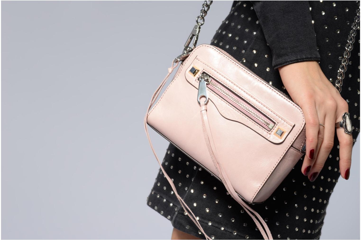 Sacs à main Rebecca Minkoff REGAN CAMERA BAG Rose vue haut