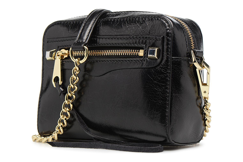 Handtaschen Rebecca Minkoff REGAN CAMERA BAG schwarz schuhe getragen