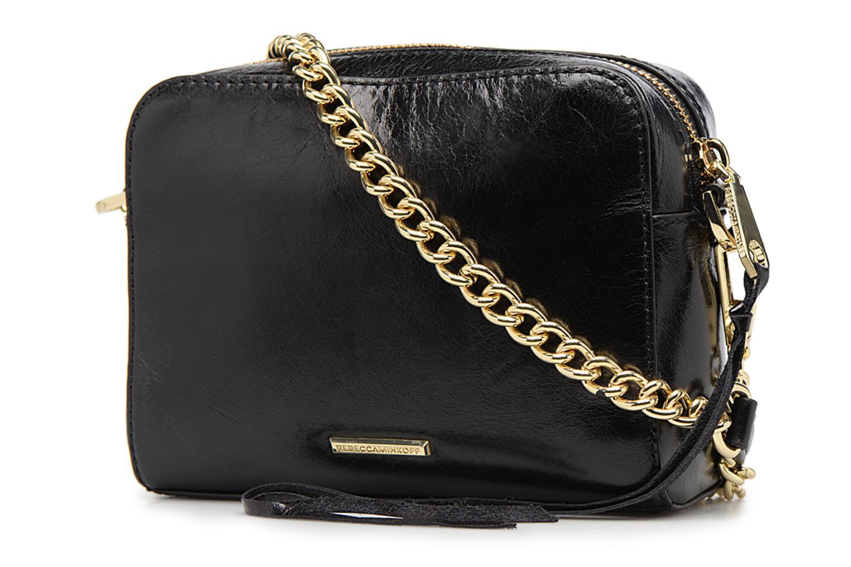 Handtaschen Rebecca Minkoff REGAN CAMERA BAG schwarz ansicht von rechts