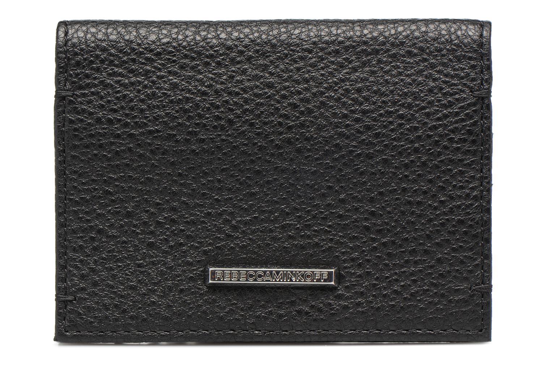 Portemonnaies & Clutches Rebecca Minkoff REGAN CARD CASE schwarz ansicht von vorne
