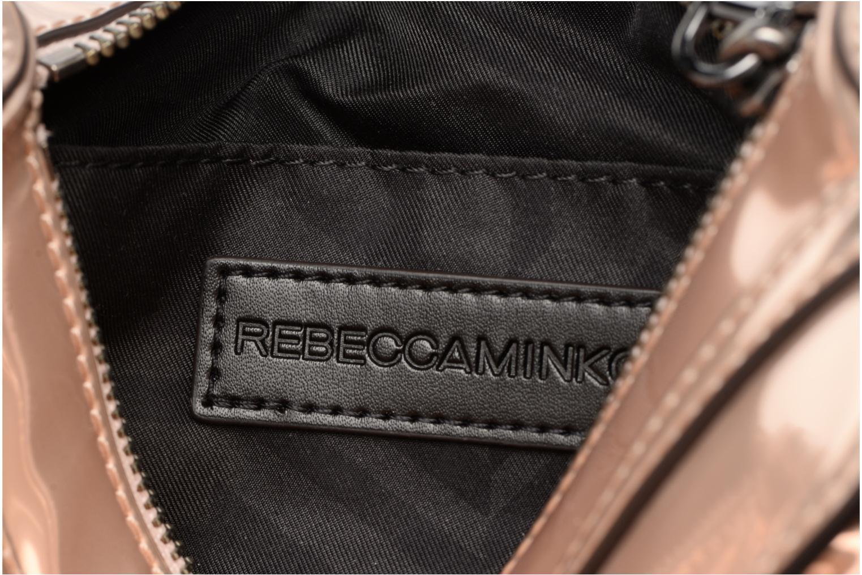 Handtaschen Rebecca Minkoff MIRRORED METALLIC MINI MAC gold/bronze ansicht von hinten