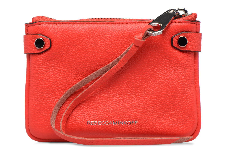 Handtaschen Rebecca Minkoff MOTO POUCH rot ansicht von vorne