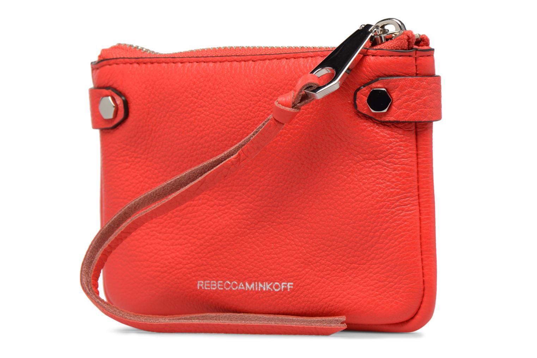 Handtaschen Rebecca Minkoff MOTO POUCH rot ansicht von rechts