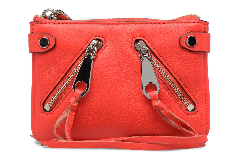 Handtaschen Rebecca Minkoff MOTO POUCH rot detaillierte ansicht/modell