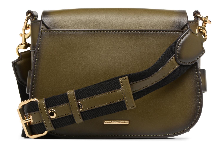 Handtaschen Rebecca Minkoff FLORENCE SADDLE grün ansicht von vorne