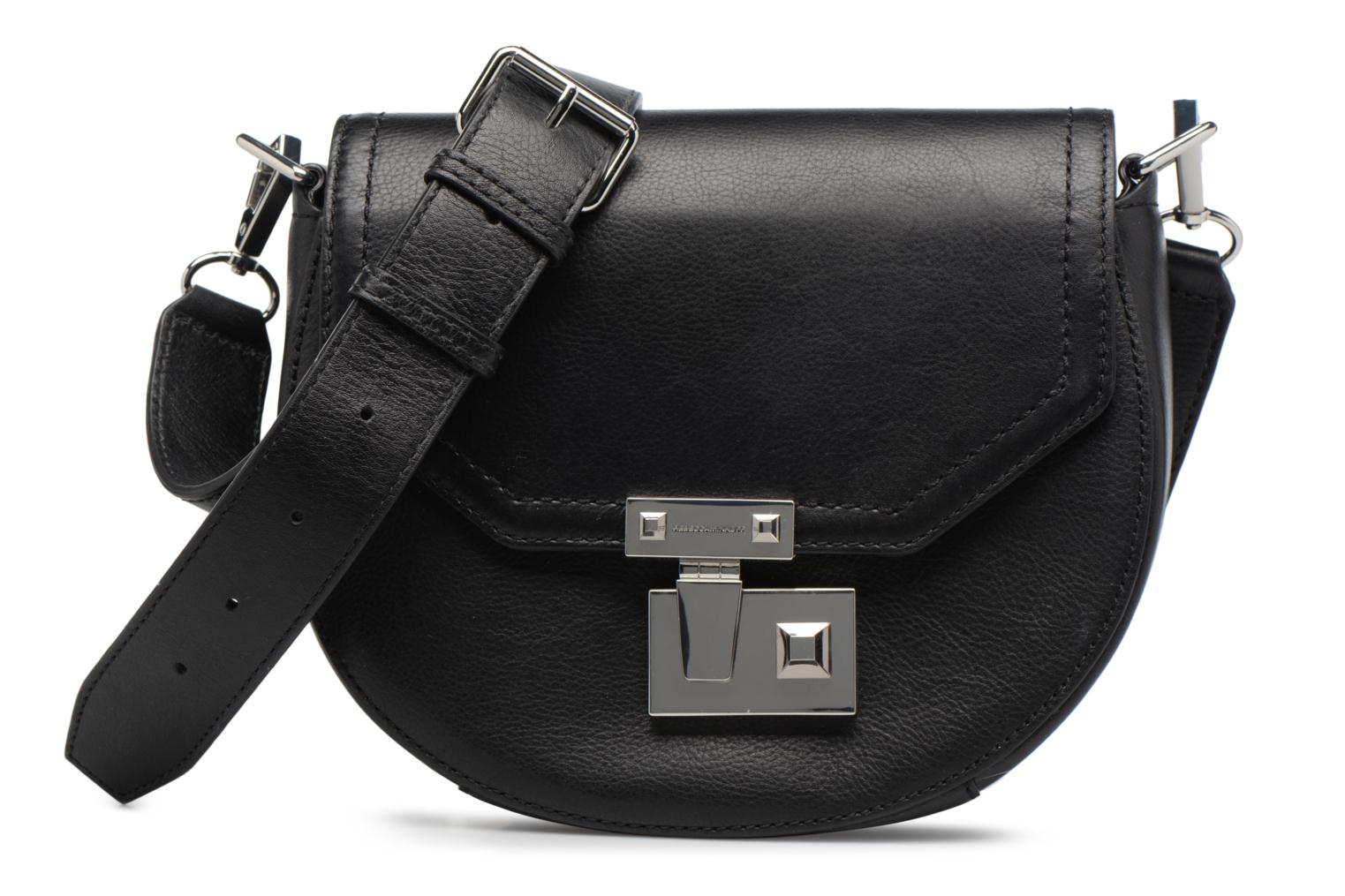 Sacs à main Rebecca Minkoff MEDIUM PARIS SADDLE BAG Noir vue détail/paire