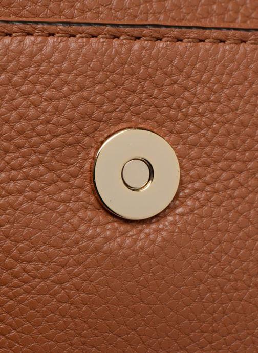 Bolsos de mano Rebecca Minkoff SMALL REGAN CLUTCH Marrón vista lateral izquierda