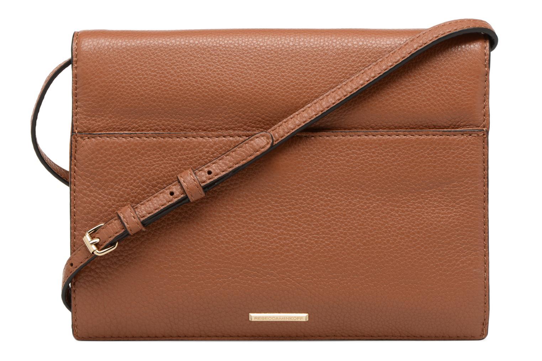 Handtaschen Rebecca Minkoff SMALL REGAN CLUTCH braun ansicht von vorne