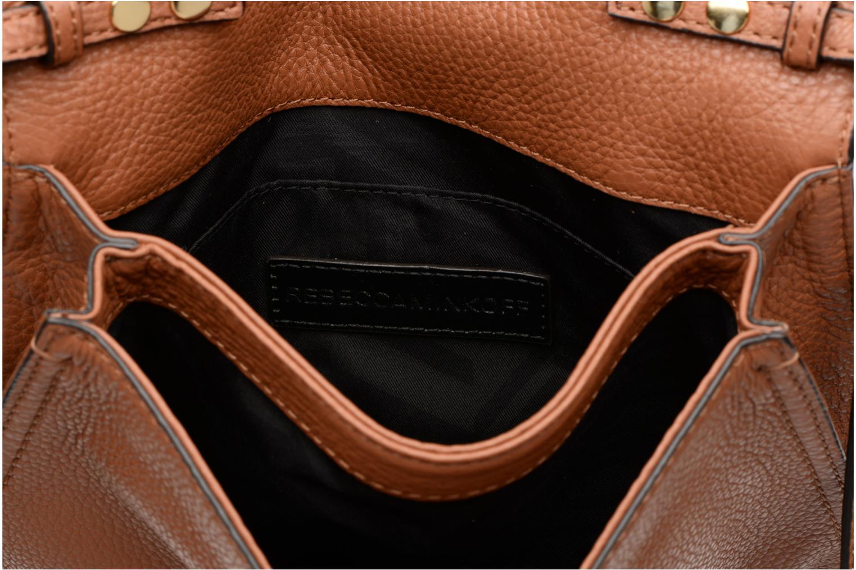 Handtaschen Rebecca Minkoff SMALL REGAN CLUTCH braun ansicht von hinten