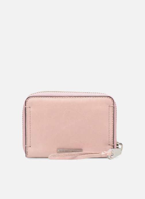 Wallets & cases Rebecca Minkoff MINI REGAN ZIP WALLET Pink front view