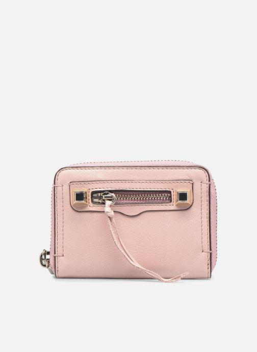Wallets & cases Rebecca Minkoff MINI REGAN ZIP WALLET Pink detailed view/ Pair view