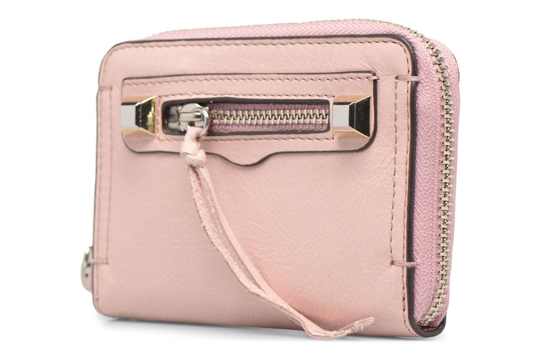 Portemonnaies & Clutches Rebecca Minkoff MINI REGAN ZIP WALLET rosa schuhe getragen
