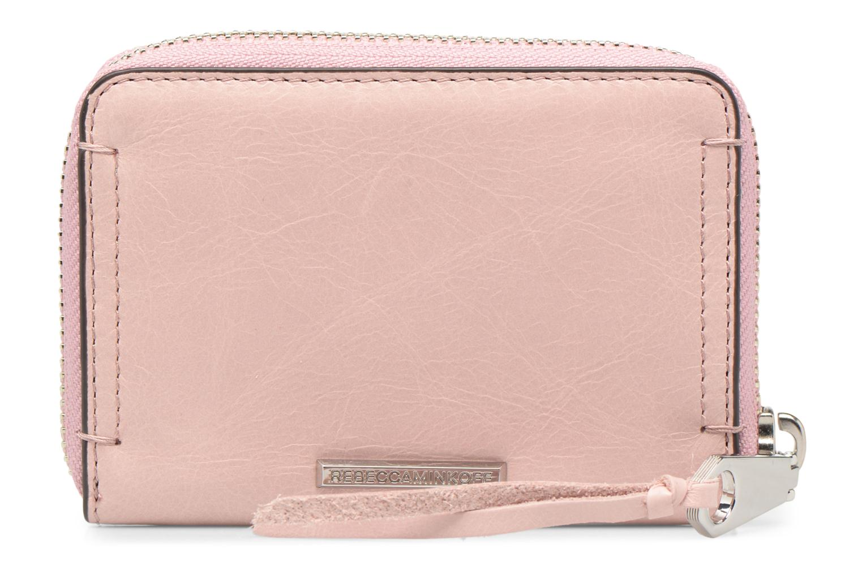 Portemonnaies & Clutches Rebecca Minkoff MINI REGAN ZIP WALLET rosa ansicht von vorne