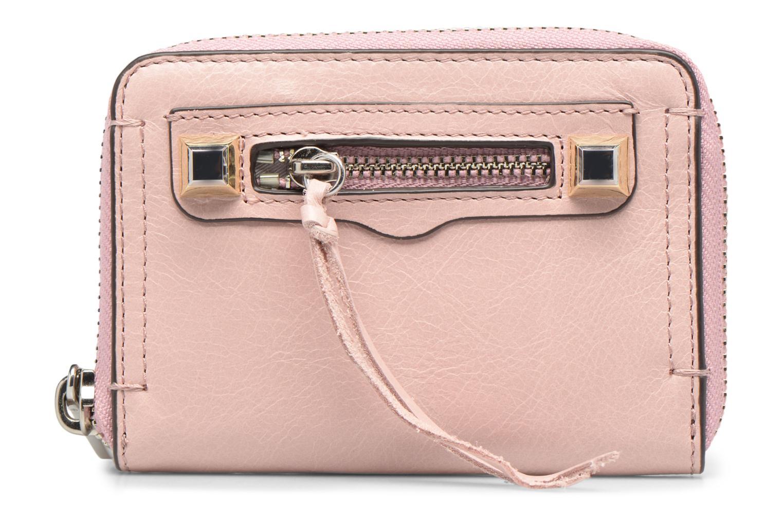 Portemonnaies & Clutches Rebecca Minkoff MINI REGAN ZIP WALLET rosa detaillierte ansicht/modell