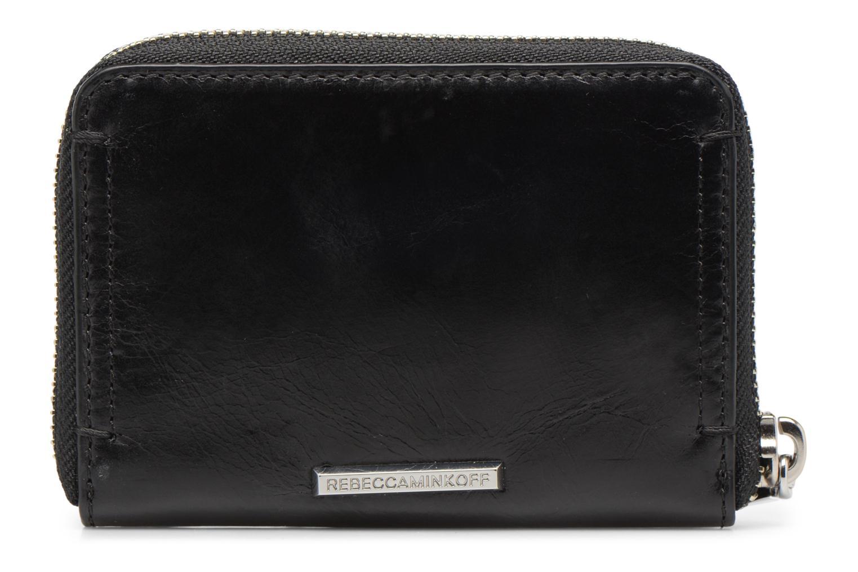 Portemonnaies & Clutches Rebecca Minkoff MINI REGAN ZIP WALLET schwarz ansicht von vorne