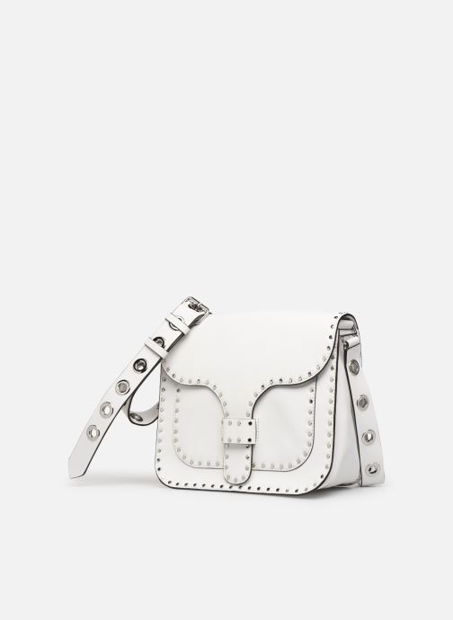 Handtaschen Rebecca Minkoff Midnighter Large Messenger weiß schuhe getragen