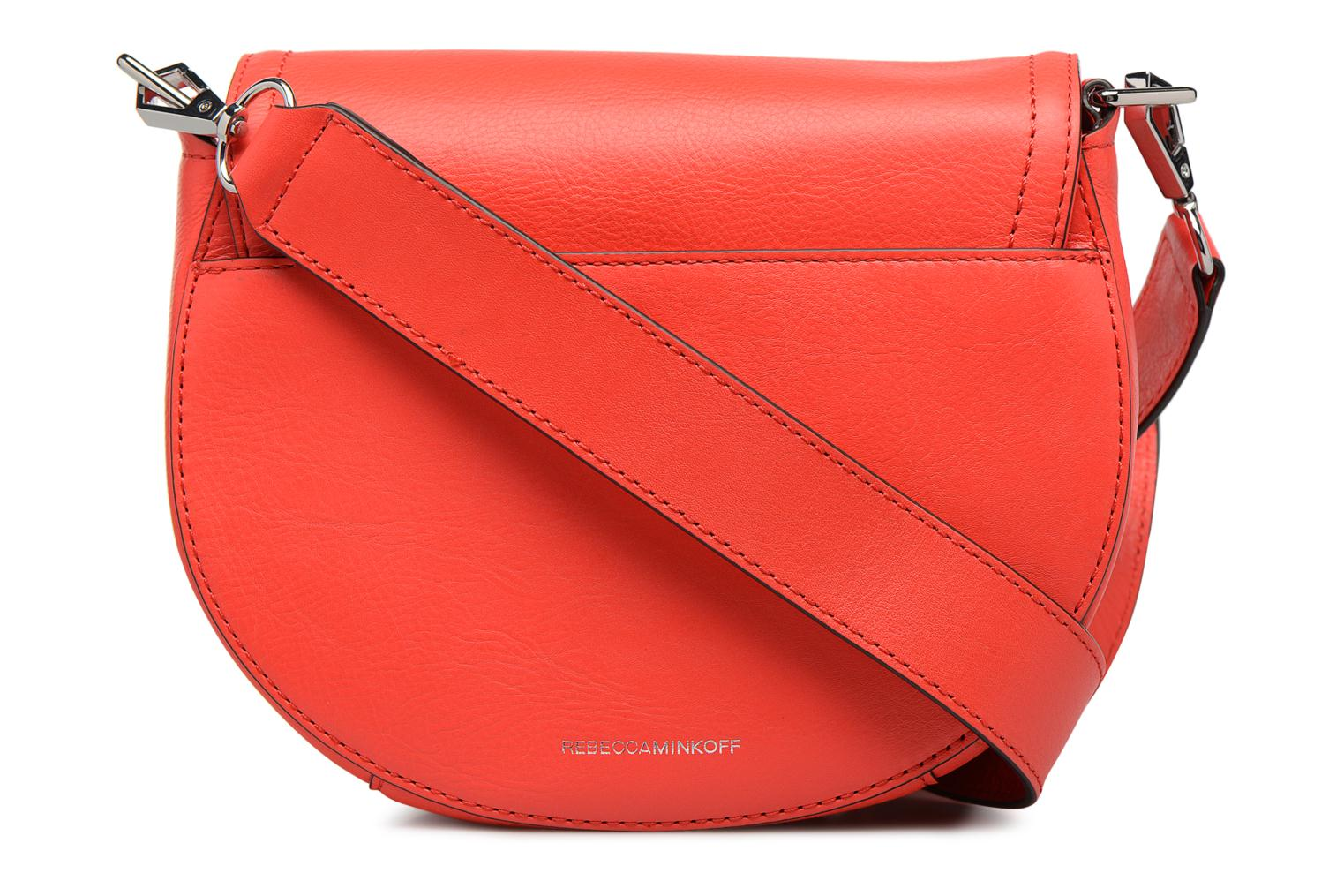 Sacs à main Rebecca Minkoff PARIS SADDLE BAG Orange vue face