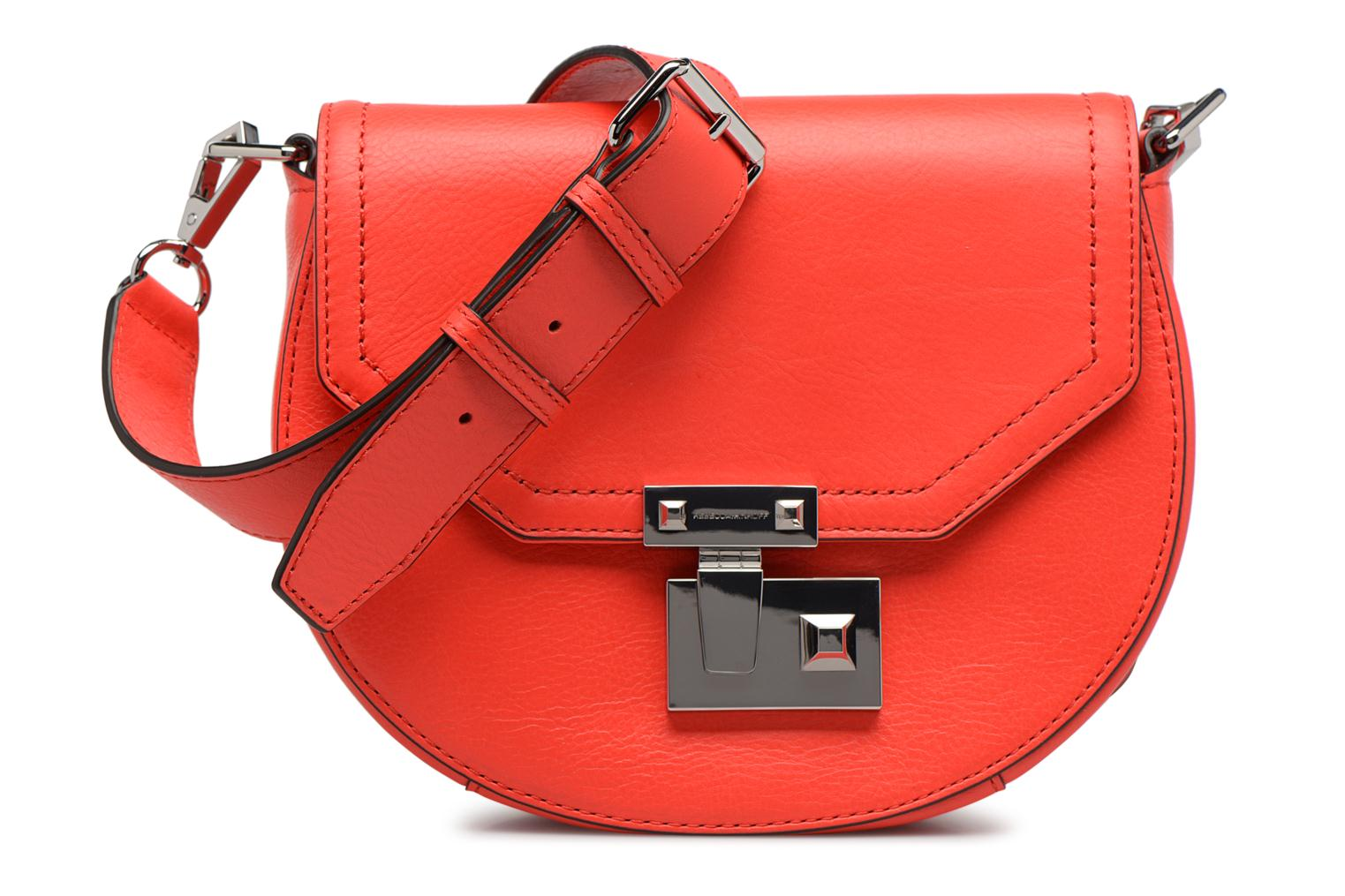 Sacs à main Rebecca Minkoff PARIS SADDLE BAG Orange vue détail/paire