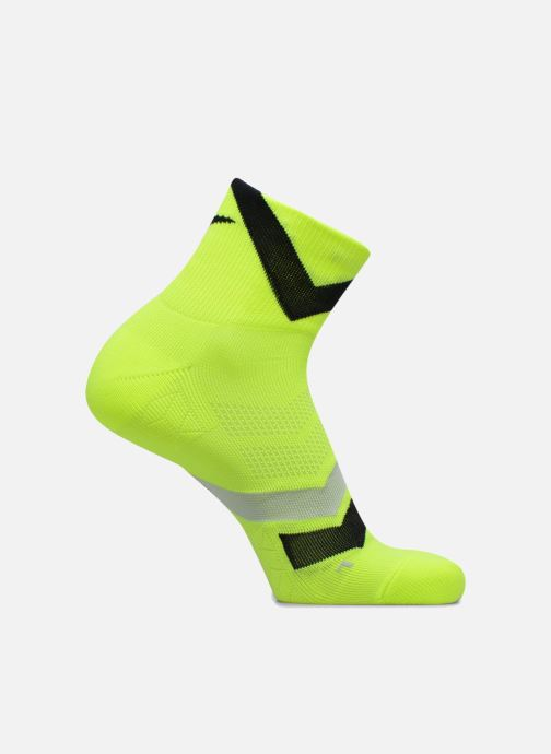Socks & tights Nike Nike Dri-FIT Cushion Dynamic Arch Quarter Running Socks Yellow detailed view/ Pair view