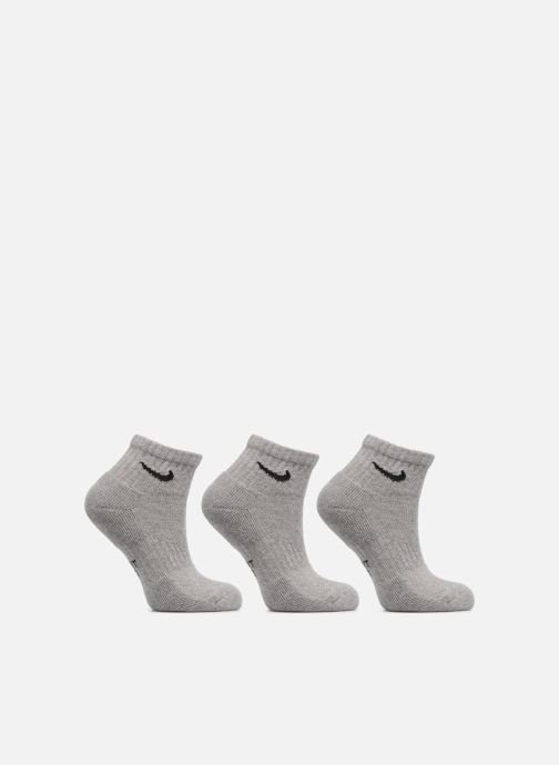 Socken & Strumpfhosen Nike Kids' Nike Performance Cushioned Quarter Training Socks 3PR grau detaillierte ansicht/modell