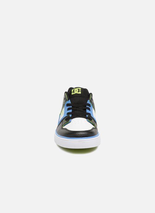 Baskets DC Shoes Pure Elastic SE Bleu vue portées chaussures