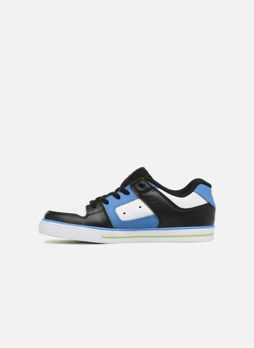 Baskets DC Shoes Pure Elastic SE Bleu vue face
