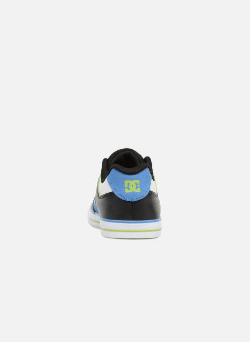 Baskets DC Shoes Pure Elastic SE Bleu vue droite