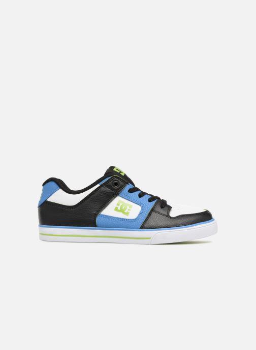 Baskets DC Shoes Pure Elastic SE Bleu vue derrière