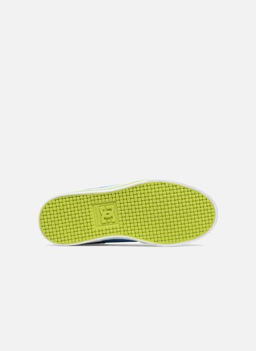 Baskets DC Shoes Pure Elastic SE Bleu vue haut