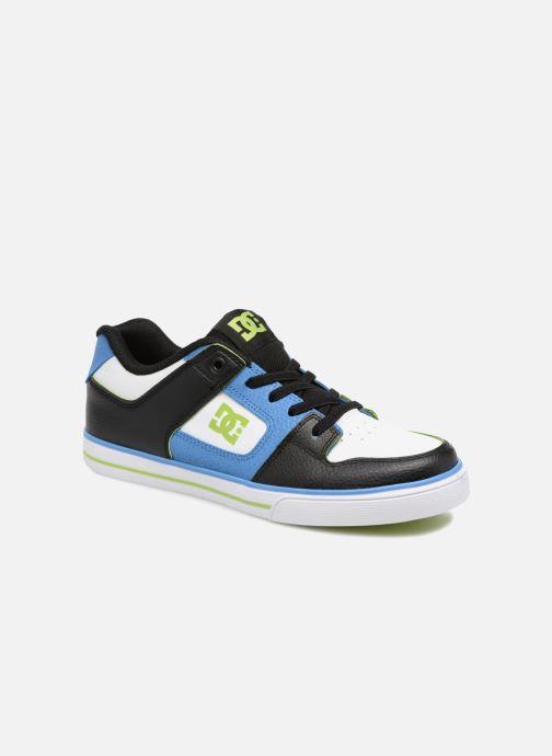 Baskets DC Shoes Pure Elastic SE Bleu vue détail/paire